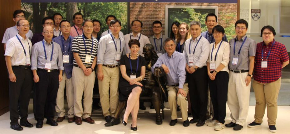 While in Beijing, Wendy had the opportunity to attend a seminar on the Institutions And Economic Performance Of China at PWCC on June 25–26. Hosted by Fang Hanming, Professor of Economics at Penn's School of Arts and Sciences, the seminar featured 27 scholars from the US and China who exchanged research and academic findings.